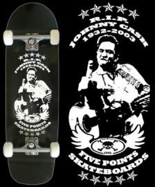 Johnny Cash Pool Skateboard
